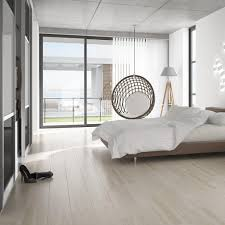 Wood Effect Floor Tiles In A Subtle Cream Shade White Bedroom ...