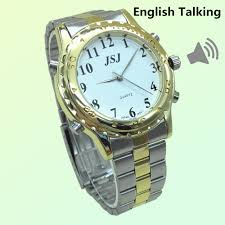compare prices on talking watch for blind online shopping buy low newest english talking watch for the blind and elderly or visually impaired people alarm clock