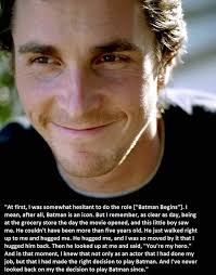 Christian Bale Quotes Best Of Christian Bale Quote From Christopher Nolan's Facebook Page Sorry