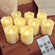 Fake Tea Lights Ebay Details About New Version Timer Flickering Flameless Led Tea Light Candles 9 Batteries