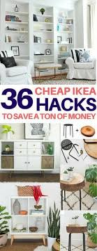 35 amazing ikea hacks to decorate on a budget diy room decor