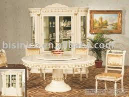 antique white dining room set. Antique White Colour Dining Room Set, Wooden Round Table With Chairs ,MOQ: Set