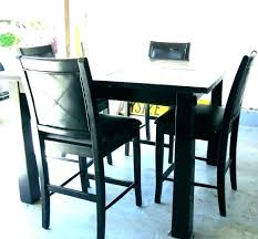 small kitchen bistro table sets and chairs for black pub set dining wood casual outdoor dinette