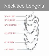 Choker Length Chart Know Perfect Necklace Length For Your Neck Zaamor Diamonds