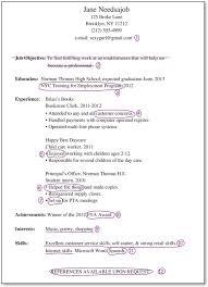 job resumes samples sample resume ...
