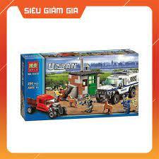 Đồ chơi xếp hình lego Urban city police bela 10419-(250 chi tiết)