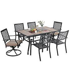 x metal armrest stackable patio chairs