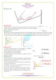 Chapter 16 Light Study Guide Ncert Solutions For Class 8 Science Chapter 16 Light