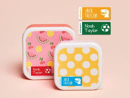 Twin Pack Small Name Labels