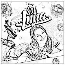 Coloriage Soy Luna Coloriages Pour Enfants Coloriage Soy Luna En Patin Facile A Colorier Photo Dessin A Imprimer L