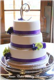 Purple And Chartreuse Wedding Cake Jamie Cakes Bakery Boutique