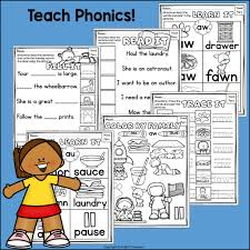 The worksheet is an assortment of 4 intriguing pursuits that will enhance your kid's knowledge and abilities. Vowel Pairs Au Aw Worksheets And Activities For Early Readers Phoni Starlight Treasures Resources