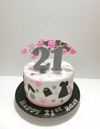 21st Birthday Cake For A Girl Food Drinks Baked Goods On Carousell
