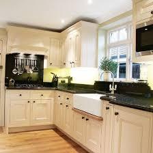 Design Ideas For Kitchens monochrome l shaped kitchen l shaped kitchen design ideas