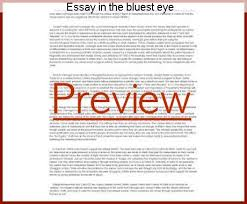 essay in the bluest eye custom paper help essay in the bluest eye essay it was their contempt for their own