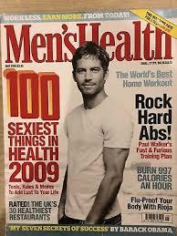 men s health magazine may 2009 paul