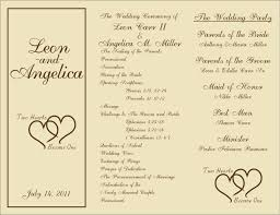 10 Best Wedding Program Images On Pinterest Church Wedding