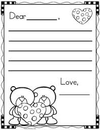 Valentines Day Letter Template Free Valentines Day Letter Writing Templates Library Ideas