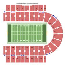 Memorial Stadium Seating Chart Memorial Stadium Kansas Seating Chart Lawrence