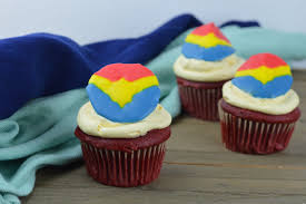 Captain Marvel Cupcakes My Big Fat Happy Life