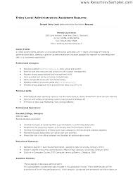Objective Statement For Administrative Assistant Resume Administrative Assistant Objective Resume Thrifdecorblog Com