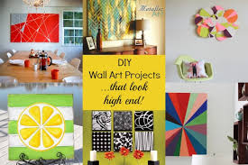 High End DIY Wall Art Projects