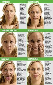 Facial yoga's the new craze for losing wrinkles... but be prepared to look  ridiculous   Face yoga, Facial yoga, Face exercises
