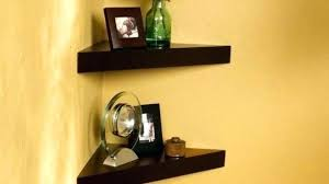 Oak Corner Shelves Wall Mount Delectable Corner Shelves Wall Mount Wozyworks