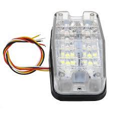 Trailer Side Marker Lights 12v 24v 12 Led Car Side Marker Lights Indicator Side Signal Strobe Lamp For Truck Trailer Boat