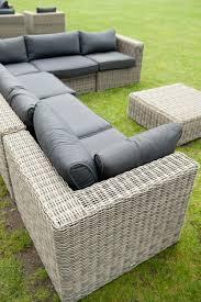 outdoor rattan furniture wicker garden ideas dark