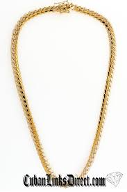 Gold Chain Width Size Chart 8mm Miami Cuban Link Gold Chain 18k Gold