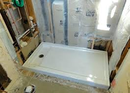 shower base cast iron pan x throughout designs 6 inside for bases plan kohler 60 32 cast iron shower pans