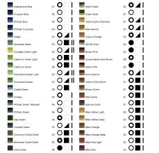 Oil Paint Colour Chart Williamsburg Handmade Oil Paint Colour Chart