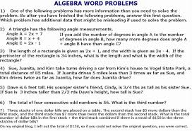 inequalities word problems worksheet with answers