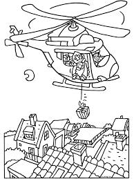 Kleurplaat Sinterklaas Met De Helikopter Kleurplatennl