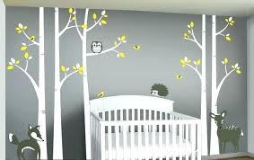 tree wall decal target tree wall decal fox mom baby 4 birch trees forest woodland white target branch birch tree wall decal target