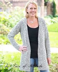 Love Notions Patterns Fascinating Boyfriend Cardigan For Ladies XSXXXL Love Notions Sewing Patterns