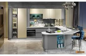 modern kitchens. Contemporary Kitchens Modern Golden And Grey Lacquer Kitchen Cabinet OP15036 In Kitchens N