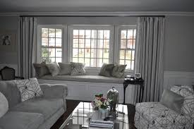 Silvery Grey Formal Beachy Living Room contemporary-living-room