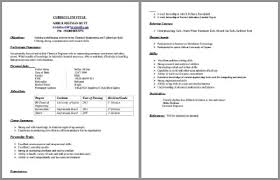 Engineering Cv Template How To Write A Cv 18 Professional Cv Templates Examples