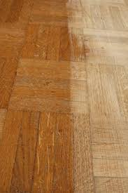 how to clean old parquet floors