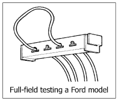 charging system troubleshooting fordification com Ford External Voltage Regulator Wiring Diagram when the regulator's control function is bypassed, the alternator runs full field the method of bypassing the regulator differs, depending on the vehicle ford voltage regulator wiring diagram