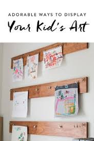 adorable things to do with your kid s art aside from just slapping it on the fridge