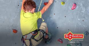 building a diy climbing wall for