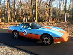 Corvettes on Craigslist: 1984 Corvette with Gulf Oil Livery ...