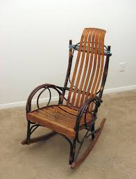 rocking chair an old wooden