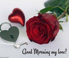 romantic good morning message for