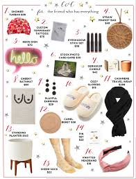 gift guide for the best friend who has