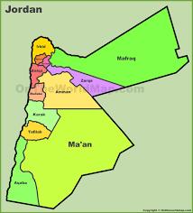 jordan maps  maps of jordan