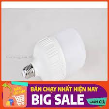 Bóng đèn LED. Bóng đèn LED trụ tròn 20W ánh sáng trắng (hàng cao cấp loại siêu  sáng - tản nhiệt nhôm dày - Linh kiện đèn Hãng OEM